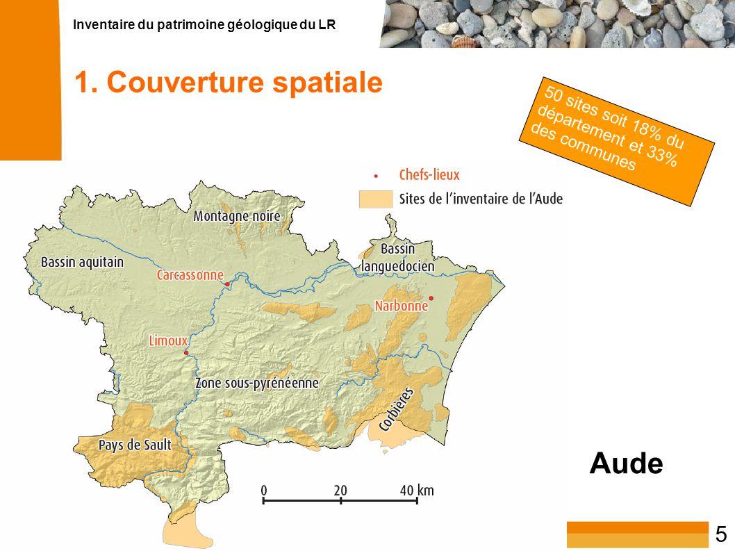 1. Couverture spatiale Aude