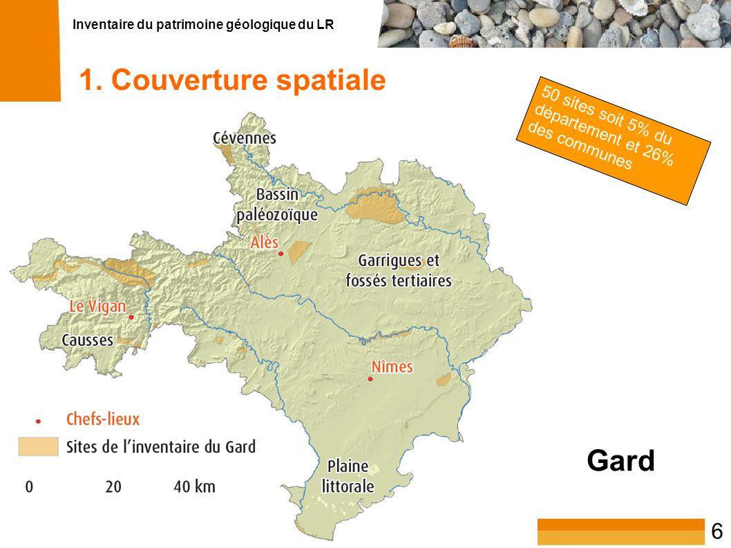 1. Couverture spatiale Gard