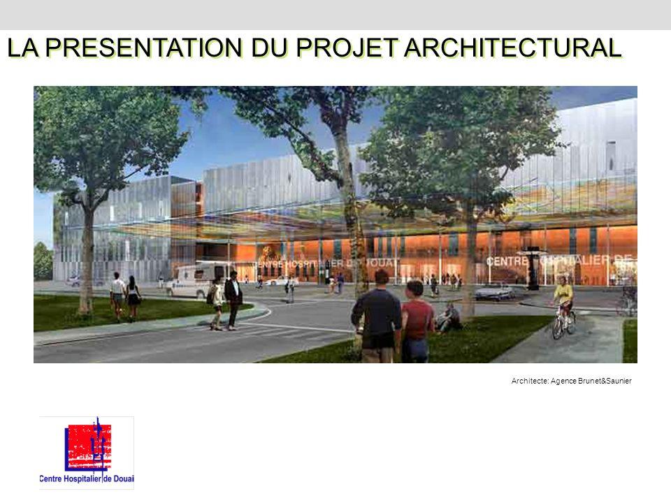 LA PRESENTATION DU PROJET ARCHITECTURAL