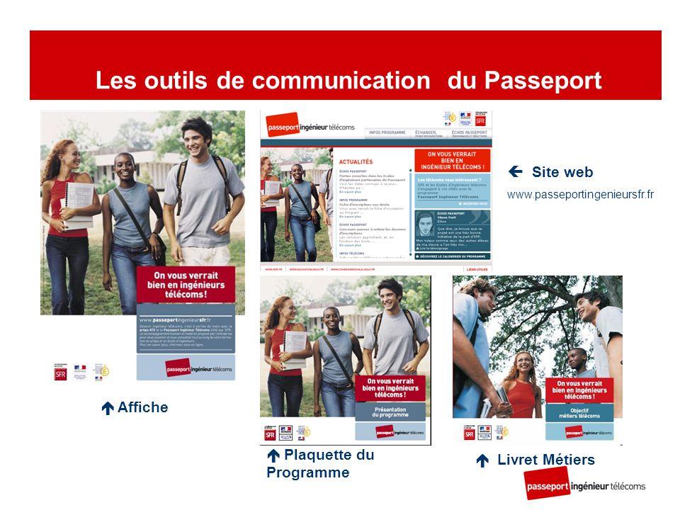 Les outils de communication du Passeport