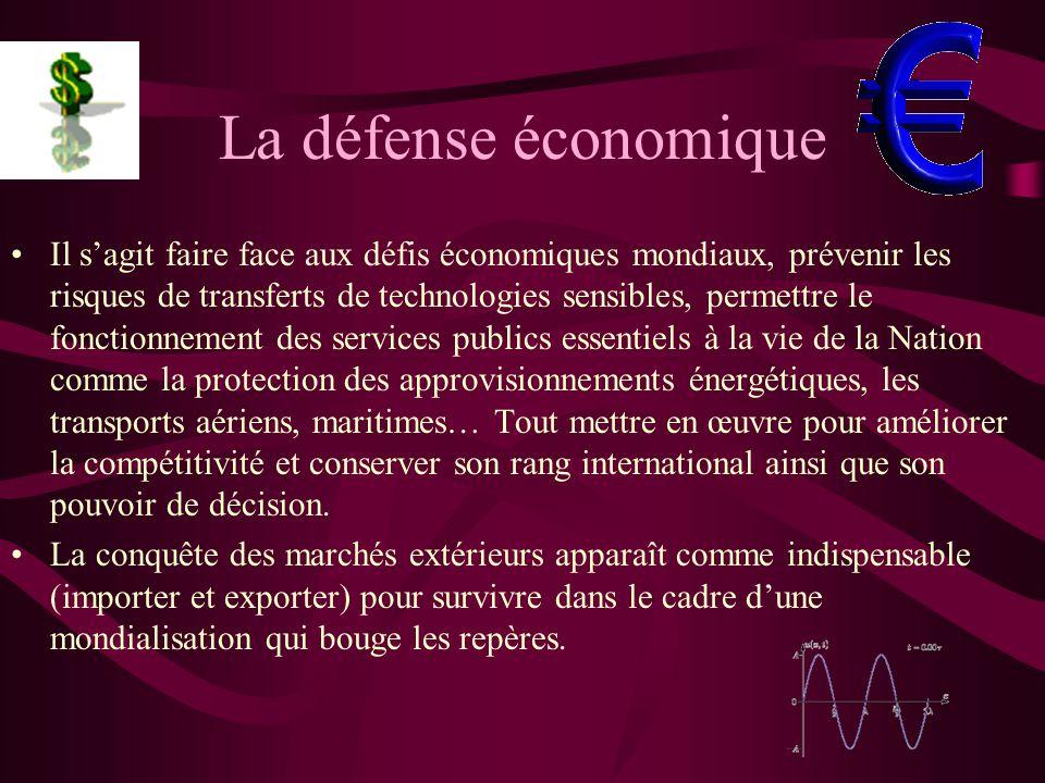 La défense économique