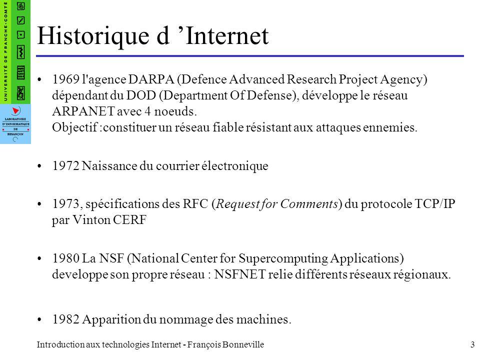 Historique d 'Internet