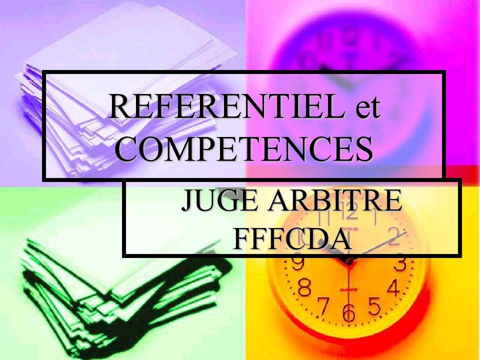REFERENTIEL et COMPETENCES