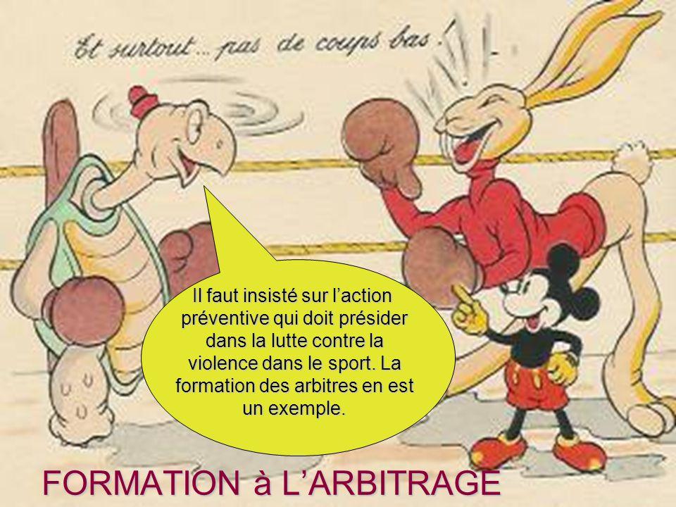 FORMATION à L'ARBITRAGE