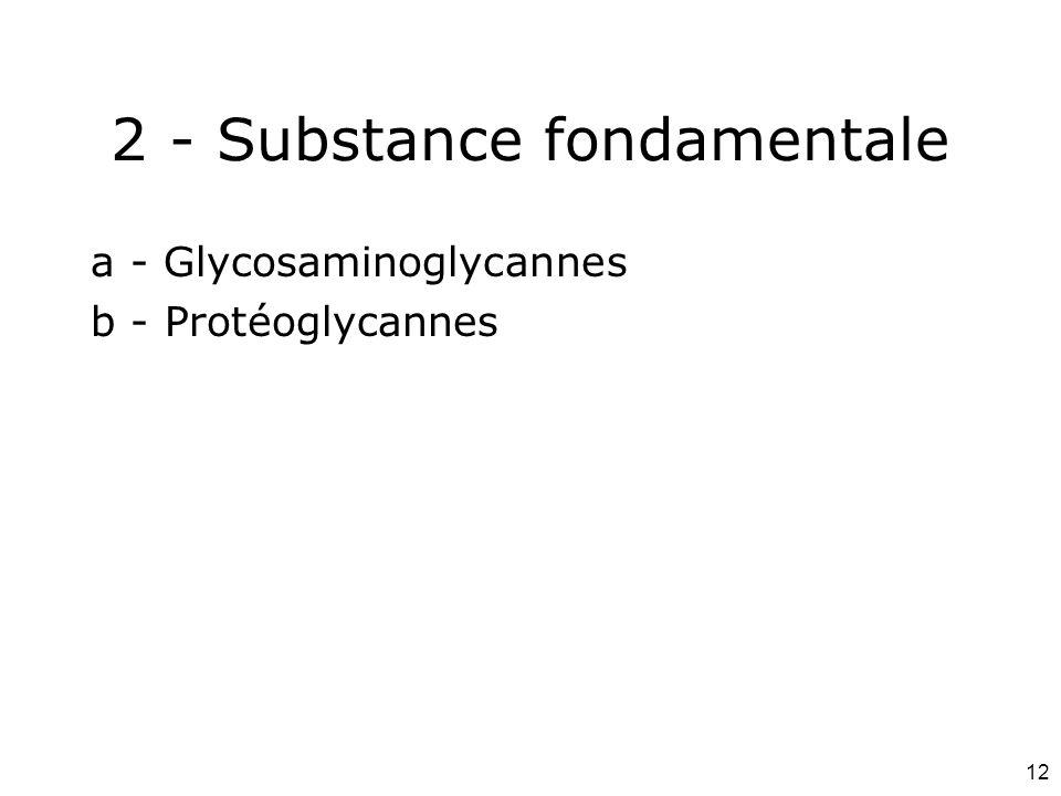 2 - Substance fondamentale