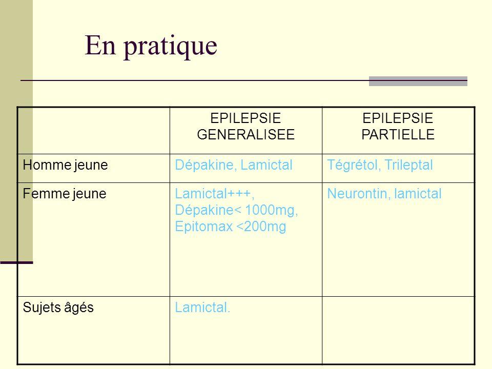 EPILEPSIE GENERALISEE