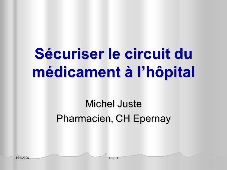 Sécuriser le circuit du médicament à l'hôpital