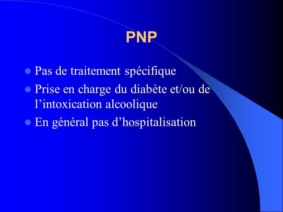 PNP Pas de traitement spécifique