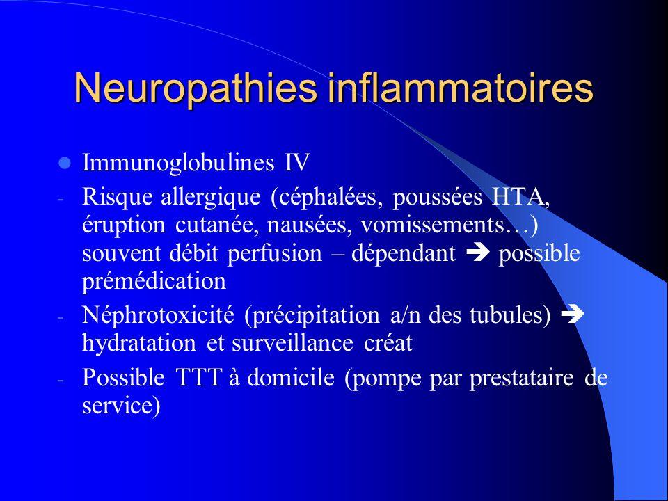 Neuropathies inflammatoires