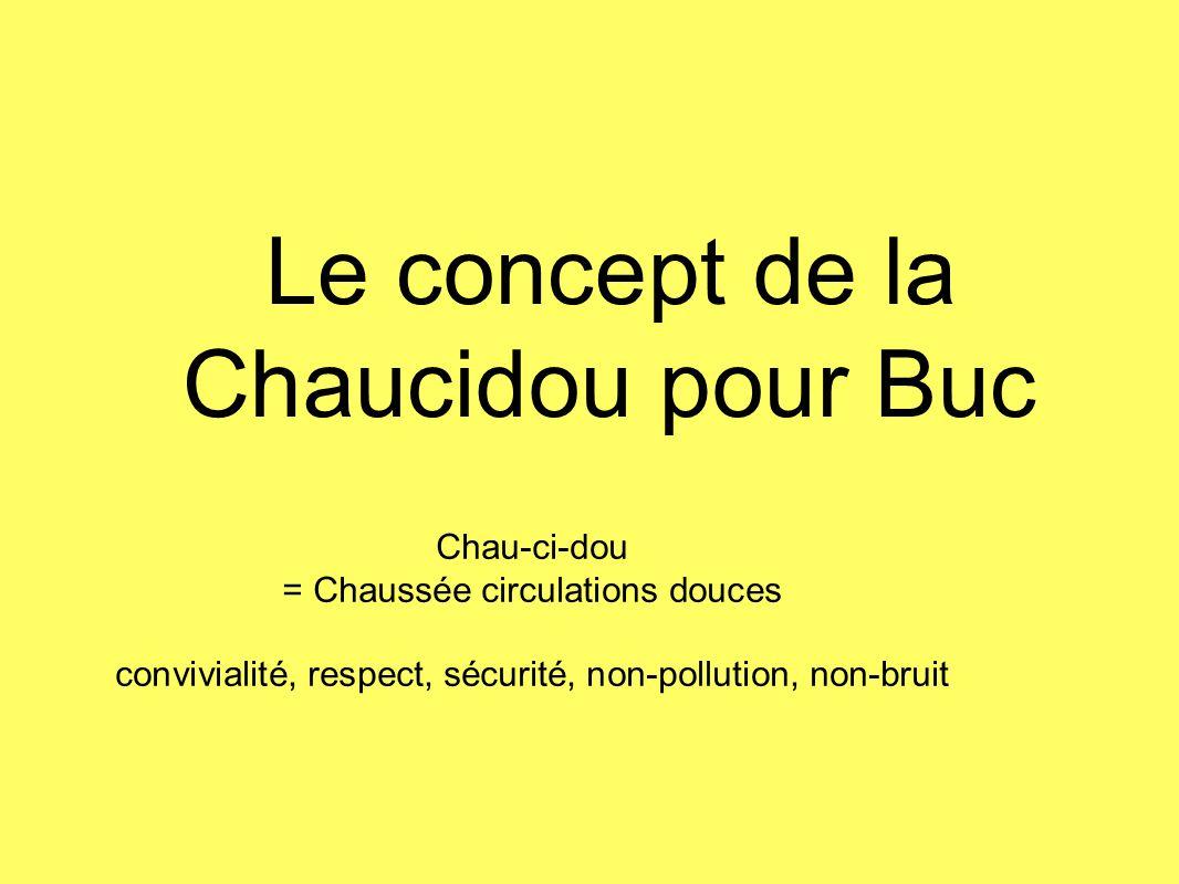 Le concept de la Chaucidou pour Buc
