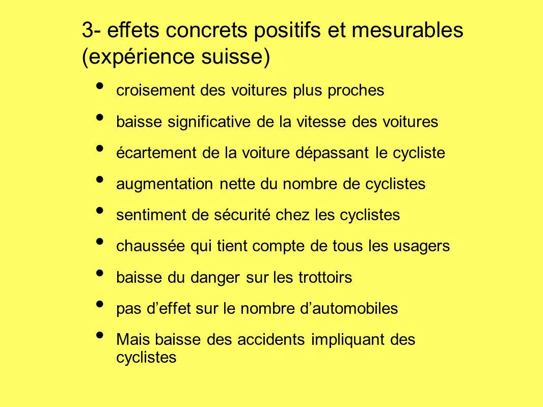 3- effets concrets positifs et mesurables (expérience suisse)