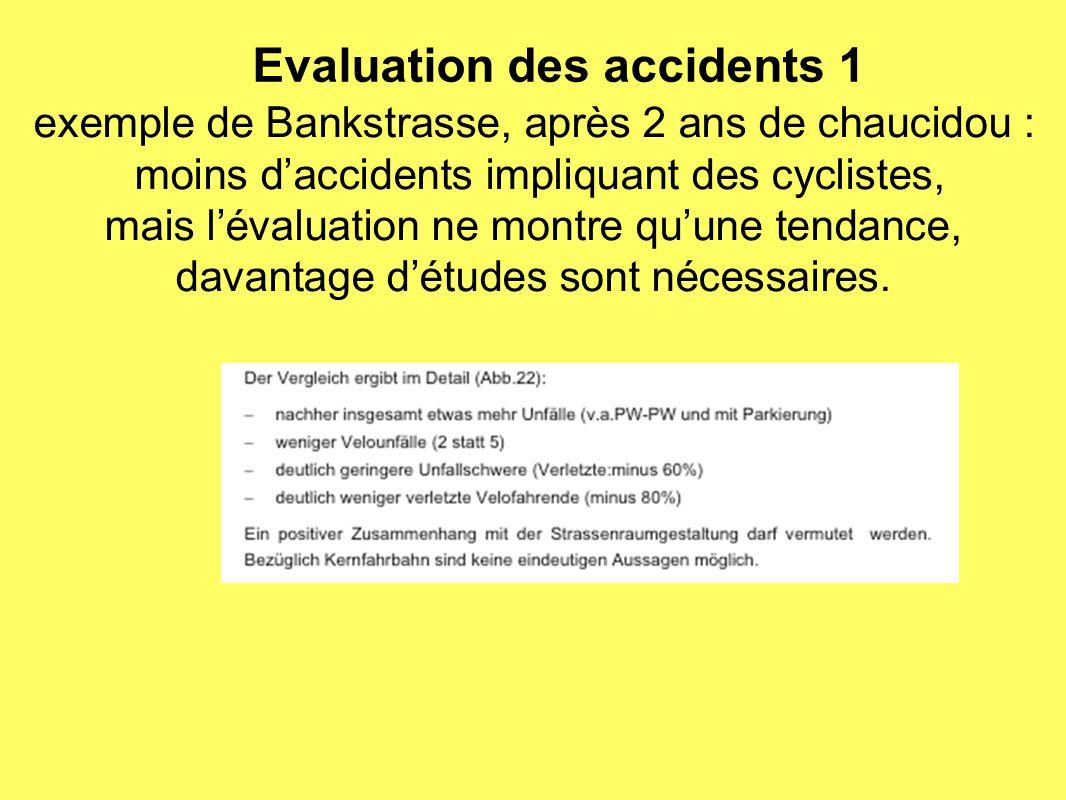 Evaluation des accidents 1