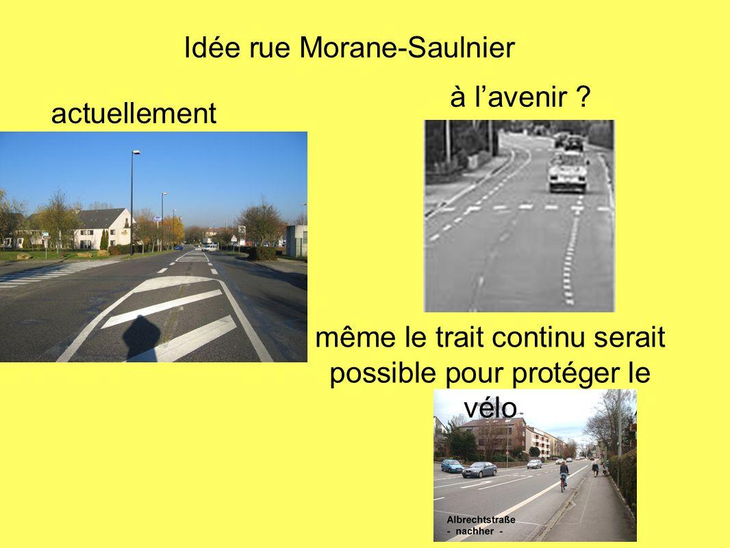 Idée rue Morane-Saulnier