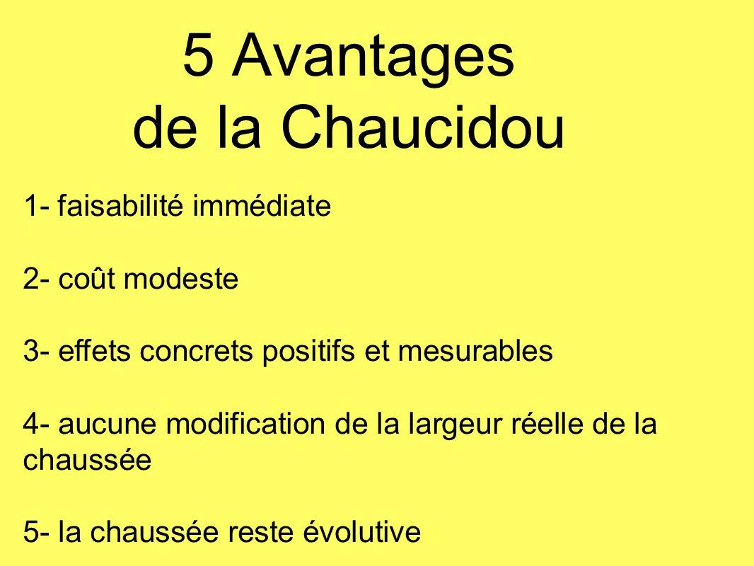 5 Avantages de la Chaucidou