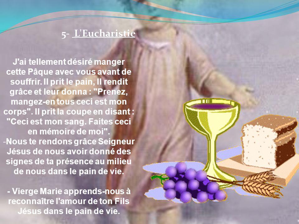 5- L Eucharistie