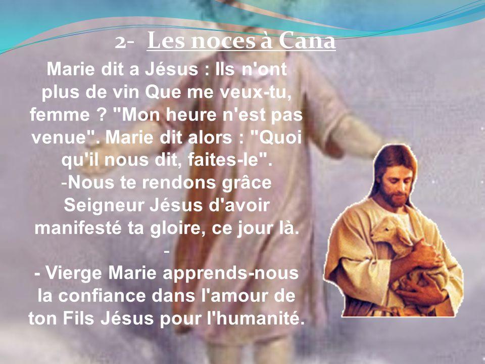 2- Les noces à Cana