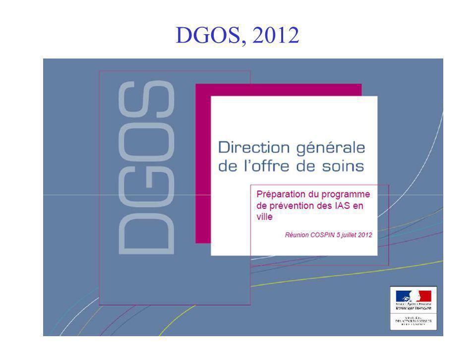 DGOS, 2012