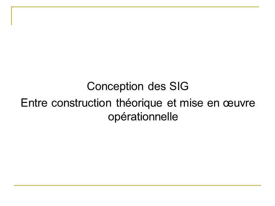 Entre construction théorique et mise en œuvre opérationnelle