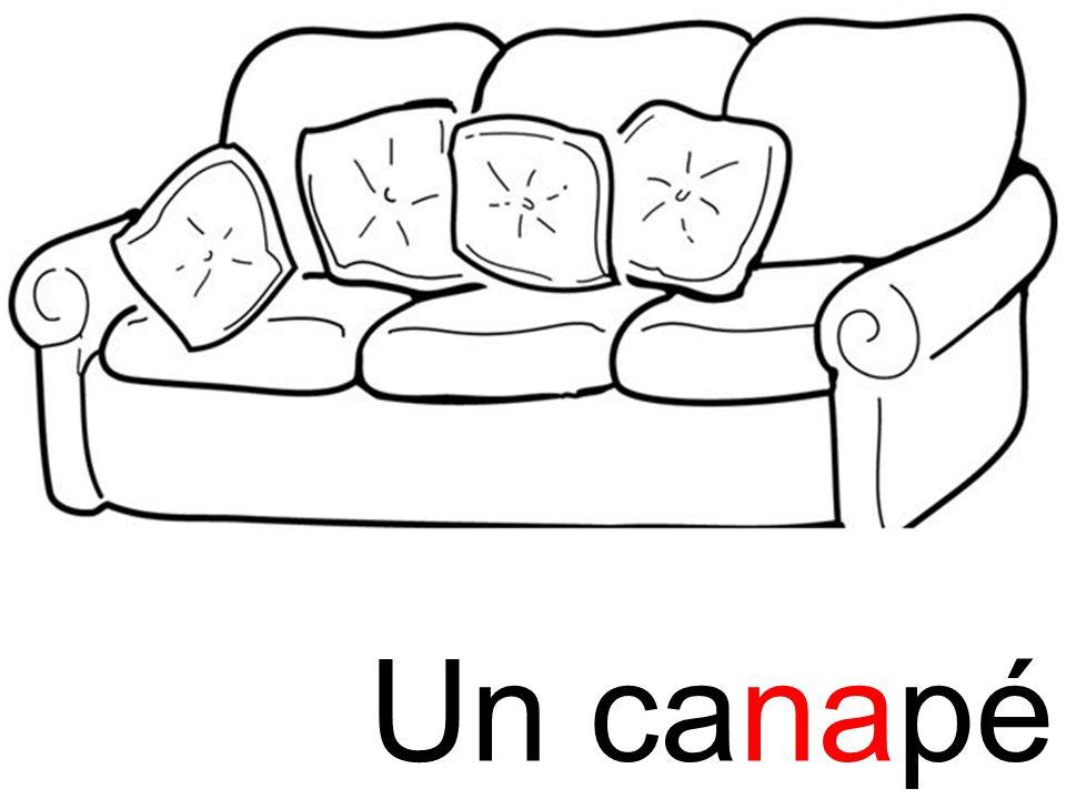 canapé na Un canapé