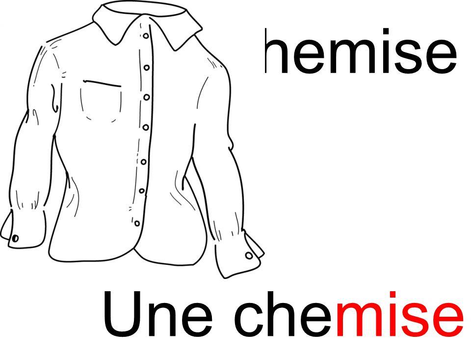 chemise mi Une chemise