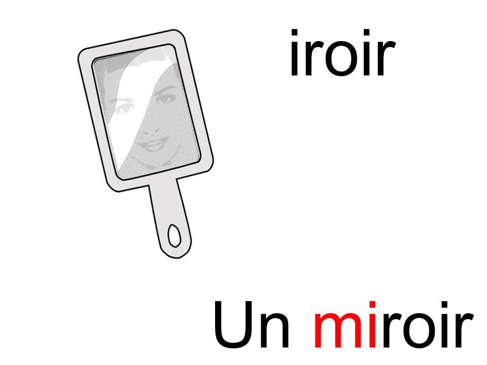 miroir mi Un miroir