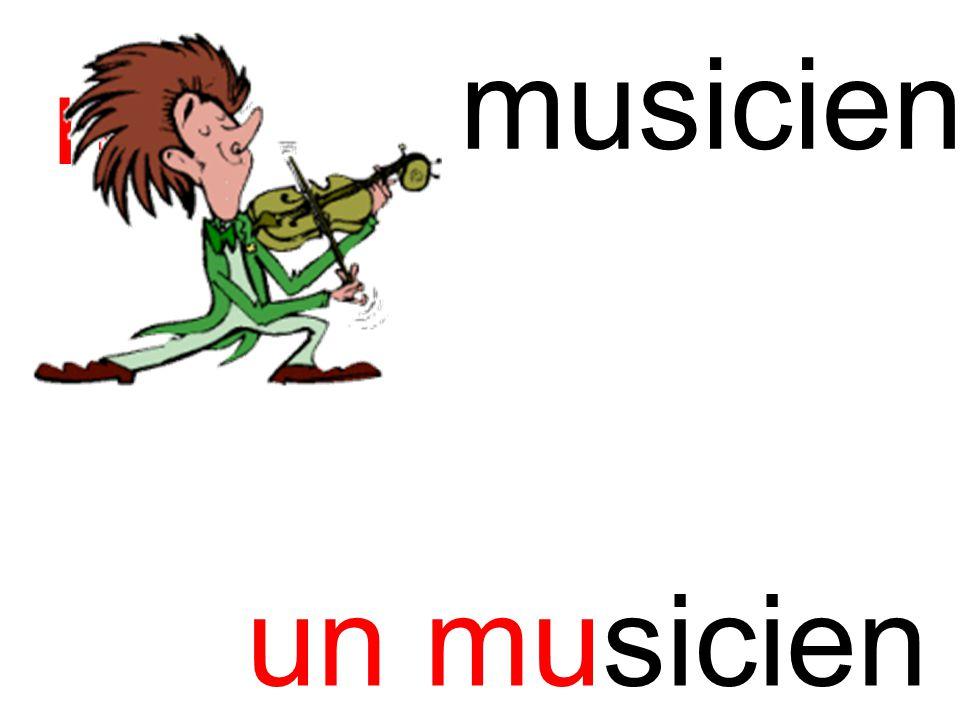 musicien mu un musicien