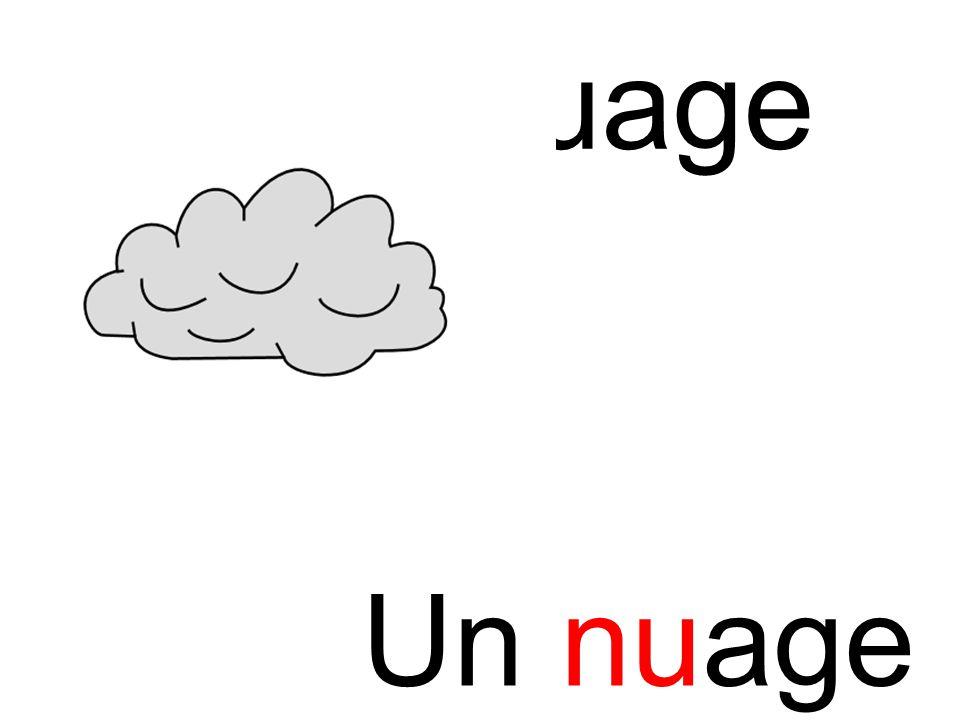 nuage nu Un nuage