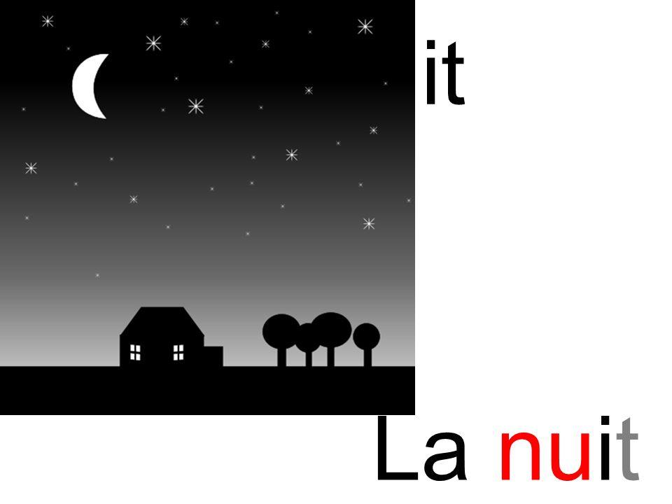 nuit nu La nuit