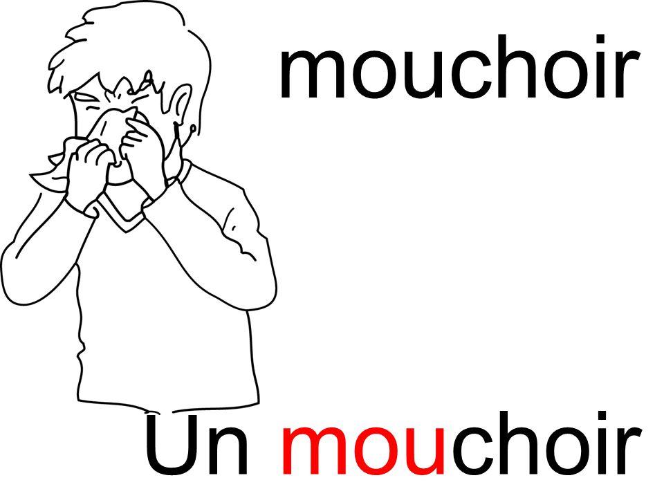 mouchoir mou Un mouchoir