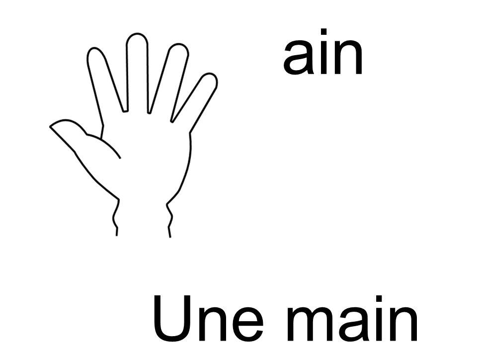main main Une main