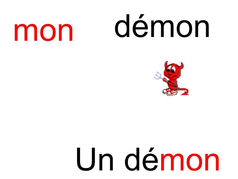 démon mon Un démon
