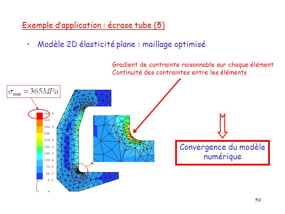 Exemple d'application : écrase tube (5)