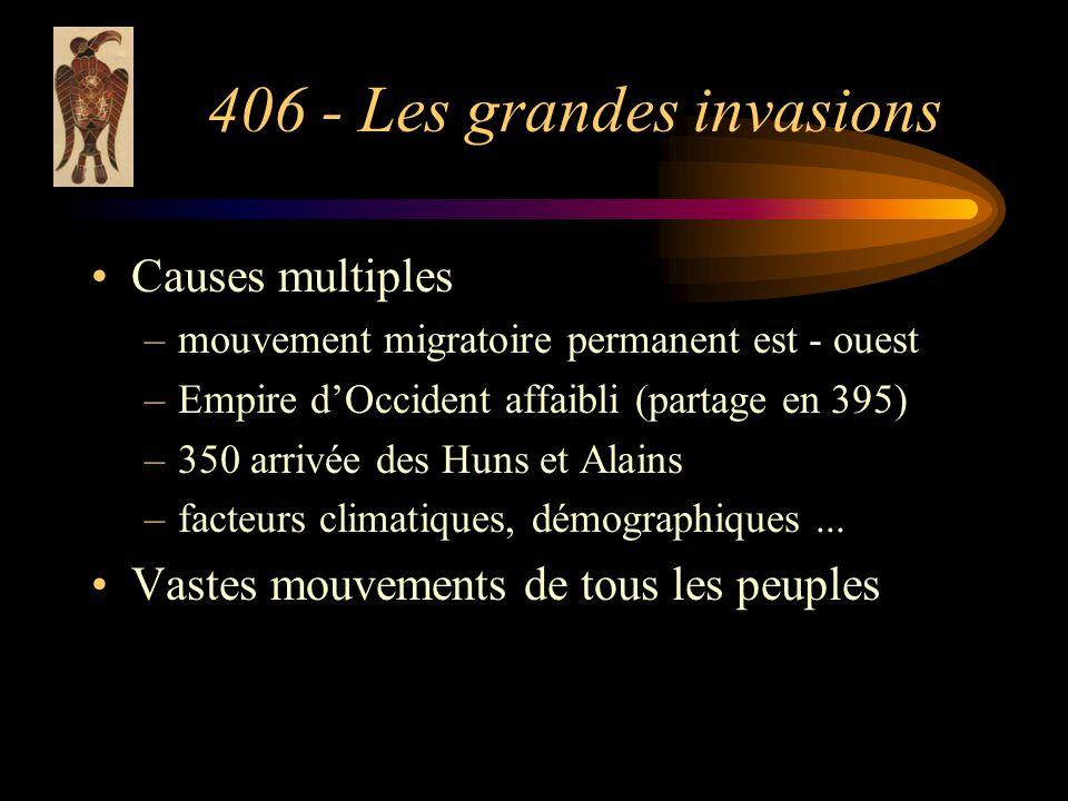 406 - Les grandes invasions