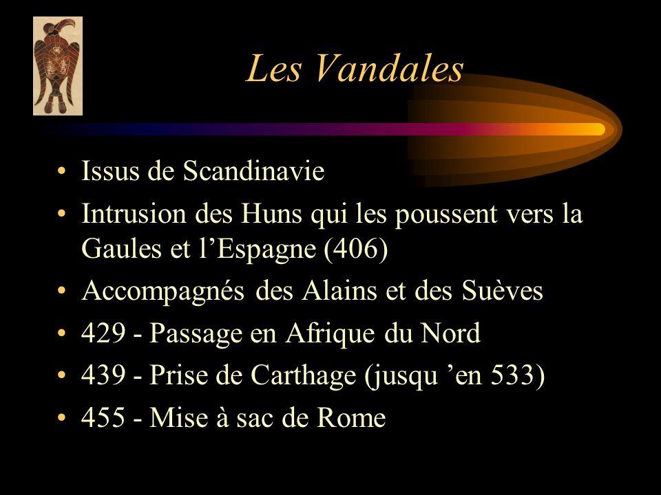 Les Vandales Issus de Scandinavie