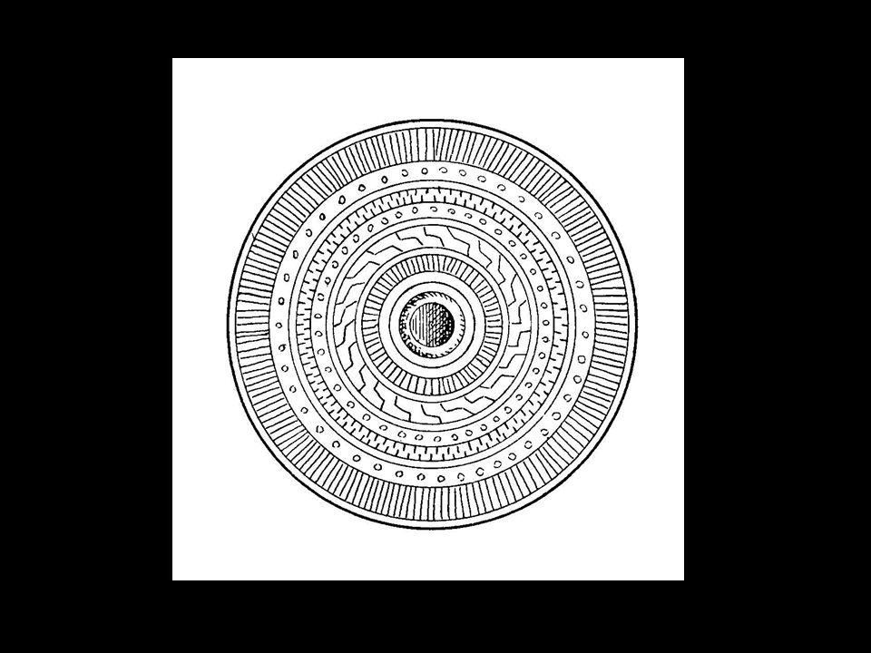 Fibule circulaire en bronze trouvée à Saint félix de Sorgues