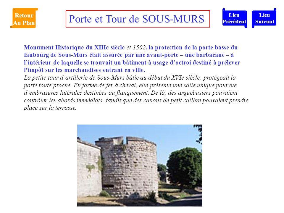 Porte et Tour de SOUS-MURS