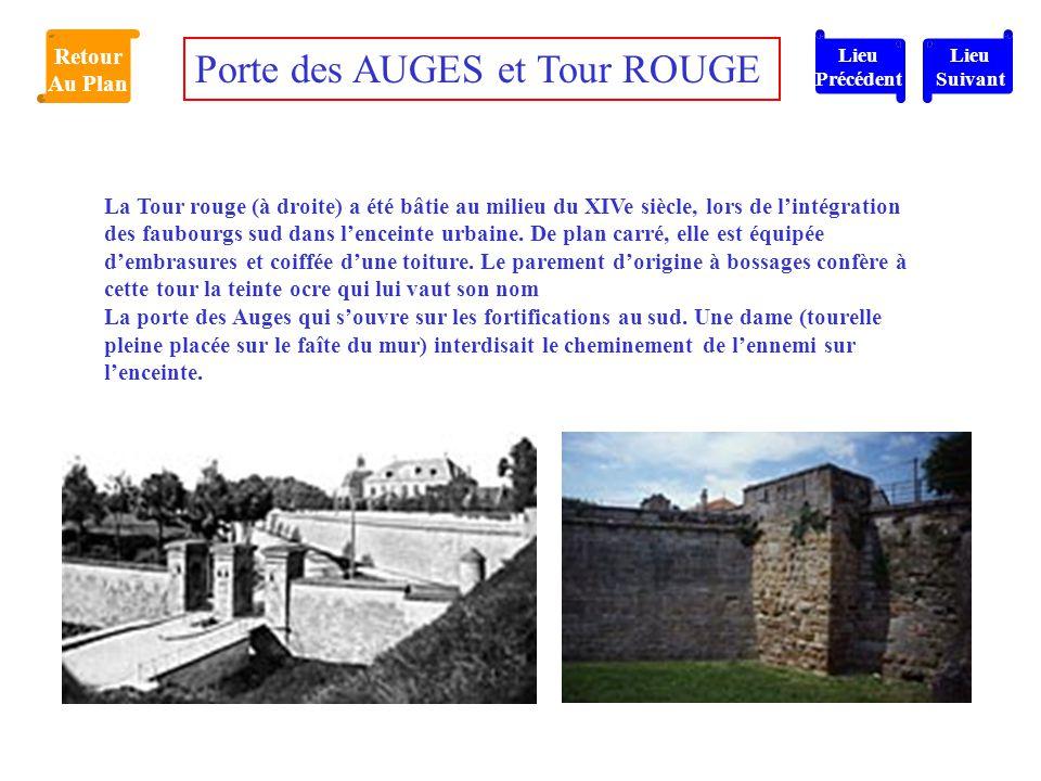 Porte des AUGES et Tour ROUGE
