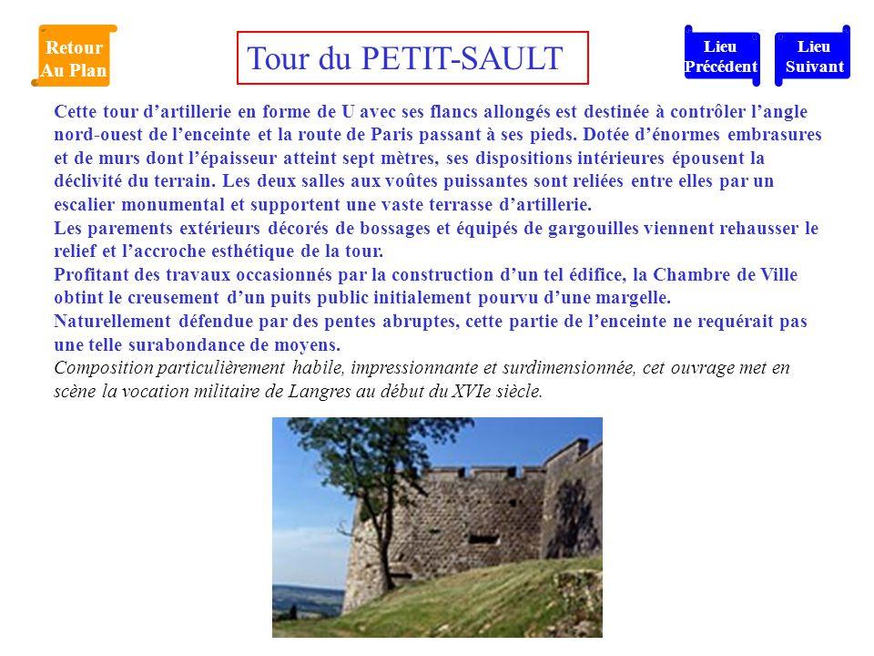 Tour du PETIT-SAULT Retour Au Plan