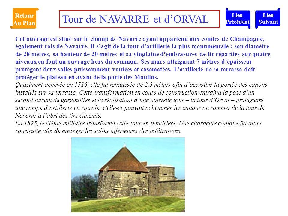 Tour de NAVARRE et d'ORVAL