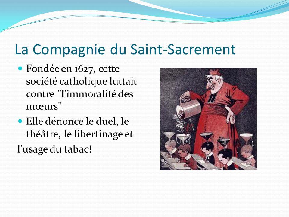 La Compagnie du Saint-Sacrement