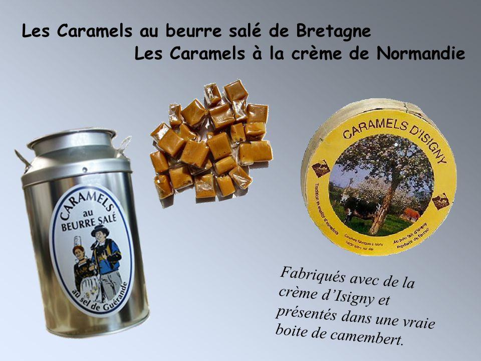 Les Caramels au beurre salé de Bretagne