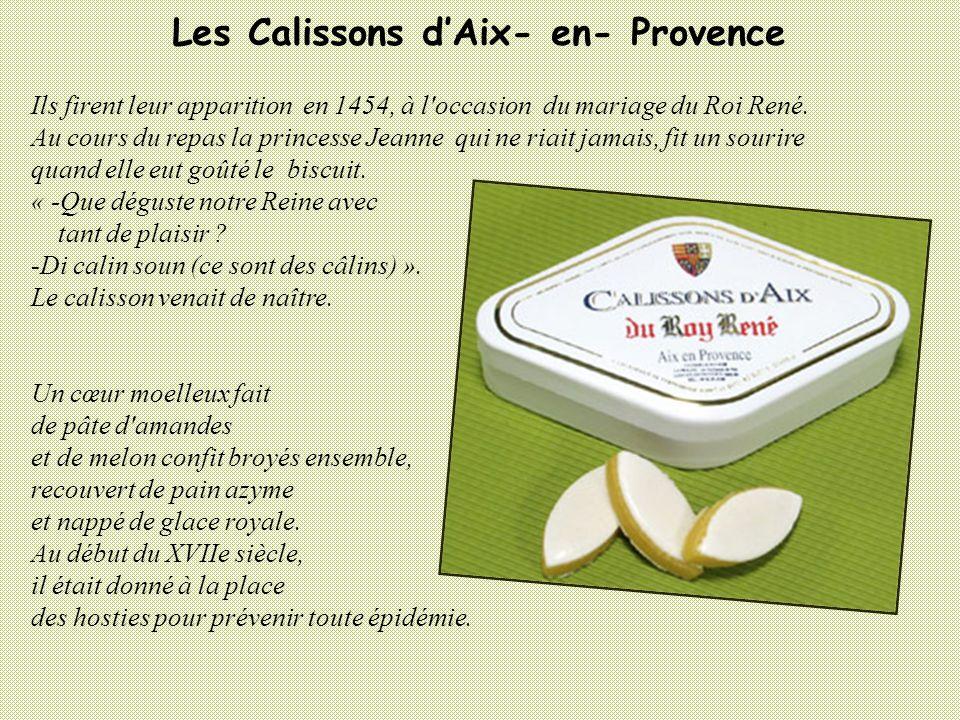 Les Calissons d'Aix- en- Provence