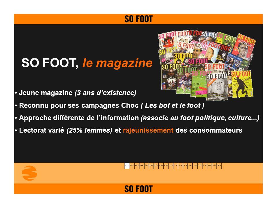 SO FOOT, le magazine Jeune magazine (3 ans d'existence)