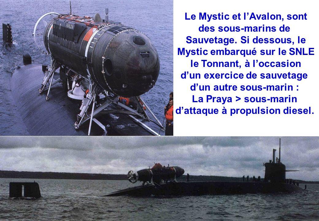 Le Mystic et l'Avalon, sont des sous-marins de