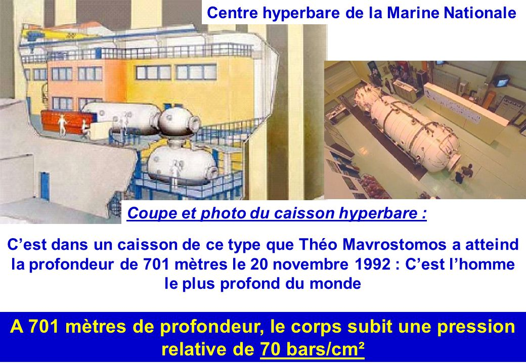 Centre hyperbare de la Marine Nationale