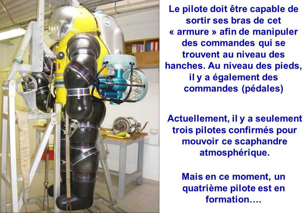 Mais en ce moment, un quatrième pilote est en formation….