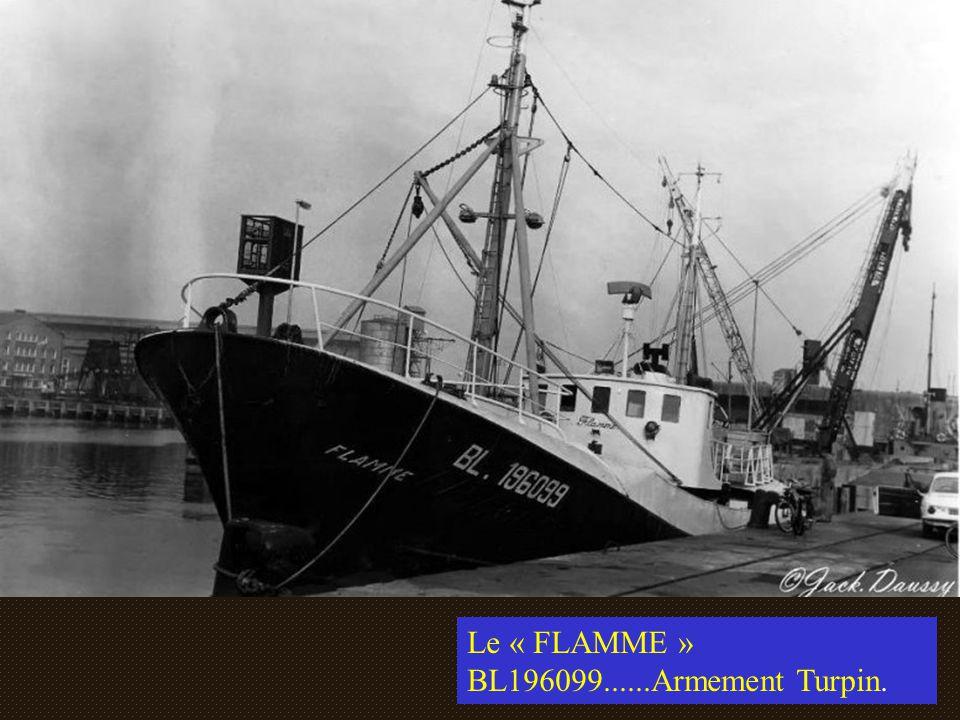 Le « FLAMME » BL196099......Armement Turpin.