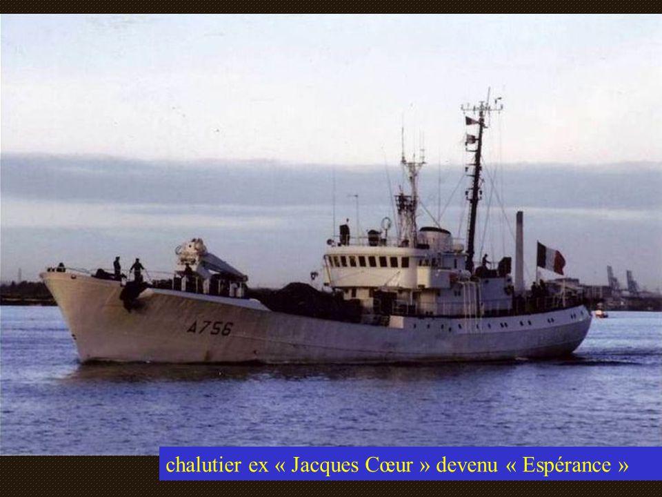 chalutier ex « Jacques Cœur » devenu « Espérance »