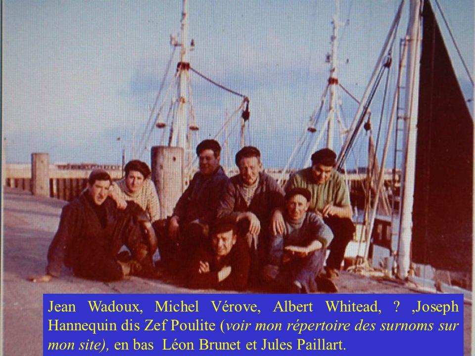 Jean Wadoux, Michel Vérove, Albert Whitead,