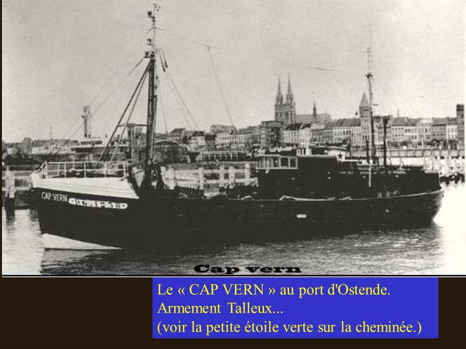 Le « CAP VERN » au port d Ostende.